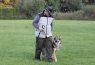 Poslusnost Goran z Deštné hory ( 1 rok a 10 měsíců ) chůze u nohy na voditku